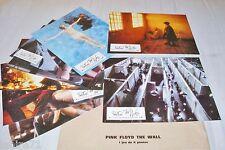 Pink Floyd  THE WALL ! Alan Parker  jeu 8 photos cinema lobby cards