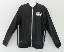 Limited~Adidas Andrew Wiggins Bomber Jacket Basketball Jersey-Track Top~Mens Xlt
