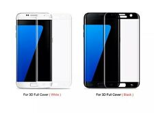 samsung galaxy s7 3D glass screen protector colours black &white