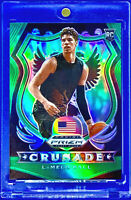 LAMELO BALL 2020-21 PANINI PRIZM #83 GREEN REFRACTOR NON AUTO ROOKIE RC HORNETS