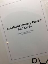 "Scholastic Literacy Place Abc Cards Large 15"" X 12"""