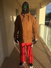 New O'Neill Mens Mutant Ski and Snowboard Jacket Large Toffee