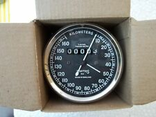160 kmph Speedometer fits Royal Enfield Smiths replica Black Face