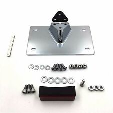 """CD Layback License Plate Mounting Kit 7.25"""" x 4.25"""" For Harley Wide Glide"""