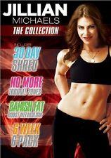 Jillian Michaels - The Collection [4x DVD]  *NEU* 4 Fitness Filme