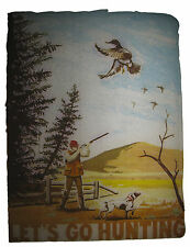 VINTAGE 70'S LET'S GO HUNTING IRON ON T-SHIRT TRANSFER