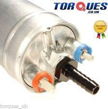 "Bosch 044 Fuel Pump Outlet M12x1.5 to 8mm (5/16"") Barb Aluminium Adapter - Black"