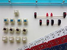 FaceW 60% PCB - SPRiT Designs - LED Underglow Macro Cherry Keyboard Vintage GH60