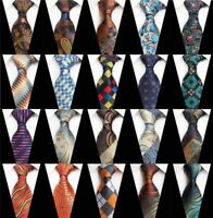 Fashion Men's Silk Tie Casual Business Party Jacquard Woven Ties Wedding Necktie