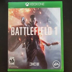 Battlefield 1 Pre Owned Xbox One Complete excellent Microsoft 2016 QTY Deals