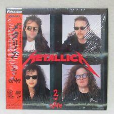 "METALLICA ""2 OF ONE"" 25LP 135 8' Laserdisc LD Japanese SHRINK"