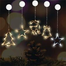 Christmas Festival Party Window Sucker LED Decorated Light with Activity Lamp