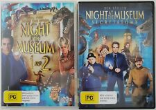Night at the Museum 1, 2 and 3 DVDs. Free postage!
