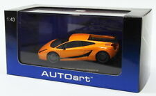 Autoart 1/43 Scale Model Car 54611 - Lamborghini Gallardo Superleggera - Orange