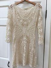 Jen's Pirate Booty Lace Crochet Dress Nwot Small/XS