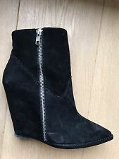 Bottines Ash 37 daim noir neuves