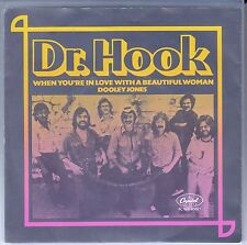 "45 T SP DR HOOK  ""WHEN YOU'RE IN LOVE WITH A BEAUTIFUL WOMAN"" (MADE IN BELGIUM)"