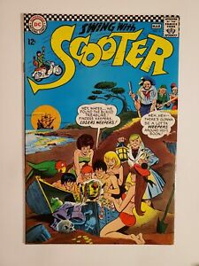 SWING WITH SCOOTER #5 (FN 6.0) 1967 SILVER AGE DC CARTOON CHARACTER COMICS