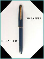 Vintage SHEAFFER Craftsman 33 BLUE - 14K GREGG SHORTHAND Nib  - JUST SERVICED