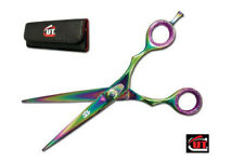 "6"" Titanium CUT Brand Pro Hair Cutting Shears Scissors German Steel 2102TC"