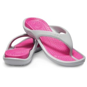 Crocs Athens (Women's Size 5) Athletic Flip Flops Slippers