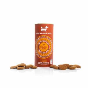 Hownd Hemp Wellness Treats Golden Oldies 130g (Pack of 10)