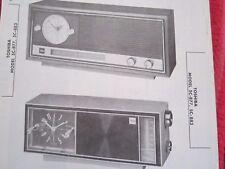 New listing Toshiba 5C-877 & 5C-883 Radio Receiver Photofact