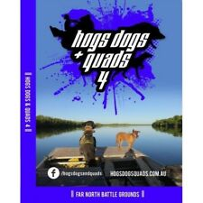 HOGS DOGS & QUADS PART 4 HUNTING DVD WILD PIG BOAR FREE SHIPPING AUST WIDE