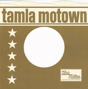 TAMLA MOTOWN Company Reproduction Record Sleeves - wavy top,  (pack of 10] SAGE