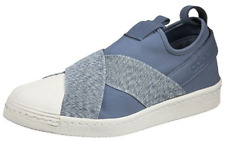 adidas Originals Superstar Slip On Schuhe Sneaker Turnschuhe Slipper blau S76410