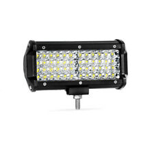1x 6.5'inch 144W Quad Row 48 LED 14400lm Cubes Work Light Bar Driving Lamp