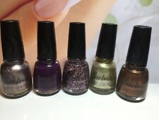 SAVINA NAIL COLOR X 5 - New - Bulk Lot AUSTRALIA FREEPOST