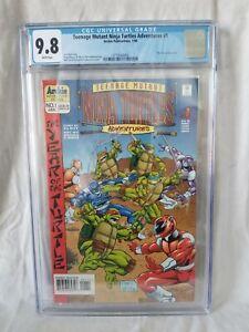 💥Teenage Mutant Ninja Turtles Adventures 1💥 (1996) - CGC 9.8 NM/MN