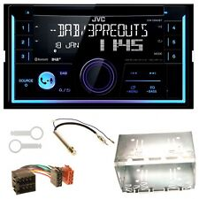 JVC kw-db93bt USB mp3 Bluetooth CD DAB + kit de integracion para golf 4 Passat Polo Ibiza 6
