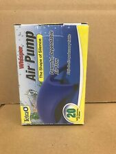 Air Pump with Minimal Noise and Maximum Air Flow for Aquariums up to 20 Gallon