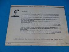 Marklin Schienenanlagen Spur OO 1939 D. MN 12 39j