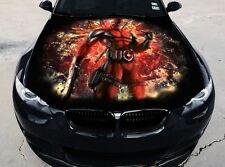 Full Color Vinyl Car Hood Graphics Sticker Deadpool Thumbs Up Decal