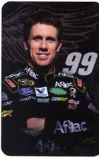 2011 Carl Edwards Aflac Ford Fusion NASCAR postcard