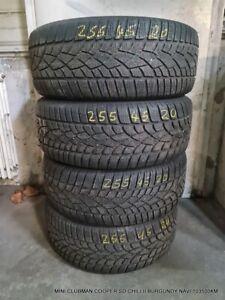 4 x Winterreifen 255 45 20 101V Dunlop SP Winter Sport 3D 6mm