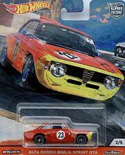 Alfa Romeo Giulia Sprint GTA  *RR* Hot Wheels 2/5 Door Slammers 1:64 OVP