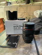 Canon ef 24-70mm f/2.8 USM Telephoto Zoom Lens 8014a002