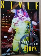 BJORK in UK Sunday Times STYLE Mag.  1 DAY ONLY -  29 Nov.'15---NORSE CODE   Ex!