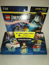 NEW SEALED Lego Dimensions Ghostbusters Peter Vekman Level Pack 71228 , multi