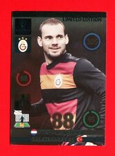CHAMPIONS LEAGUE 2014-15 Panini - Card Limited edition - SNEIJDER - GALATASARAY