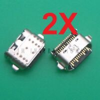 2X Motorola Moto G6 XT1925 USB Charger Charging Port Sync Dock Connector