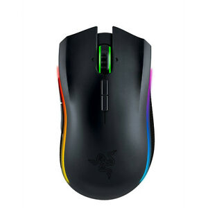 Razer Mamba Chroma Ergonomic Wireless / Wired Gaming Mouse RZ01-01360100