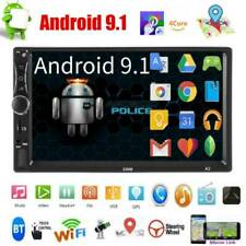 2 DIN 7inch Android 9.1 Car Stereo GPS BT WiFi FM Radio Speed Display Head Unit