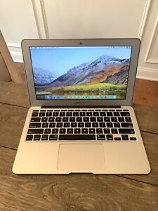 """Apple 11"""" MacBook Air 2013 1.3GHz Core i5 128GB SSD 4GB A1465 Under 400 Cycles!!"""
