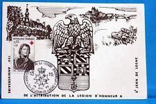 LA LEGION D HONNEUR  FRANCE CPA Carte Postale Maximum  Yt 1434 C