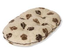 Fleece Paw Beige/brown Quilted Mattress 101cm (40'')